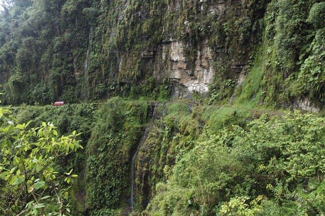 Descendo a Estrada da Morte de bicicleta, Bolívia