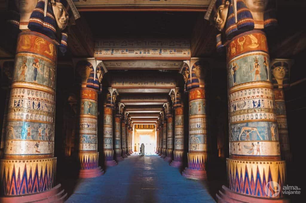 Estúdios Atlas Ouarzazate: templo egípcio