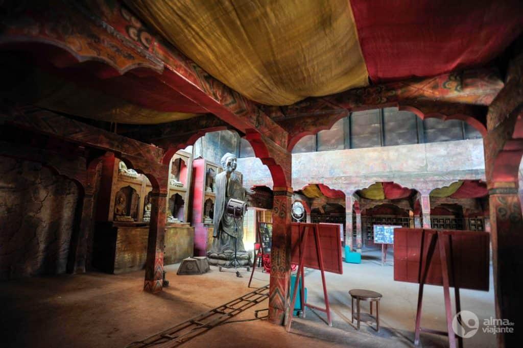 Cenário: mosteiro tibetano filme Kundun