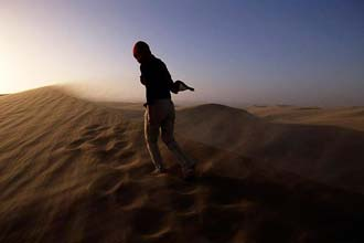 The stórkostlegt Namib Desert