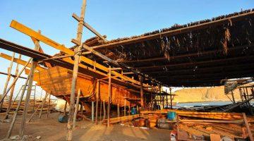 Sur, o último reduto dos barcos dhow tradicionais de Omã