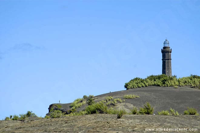 Lighthouse of Capelinhos Faial