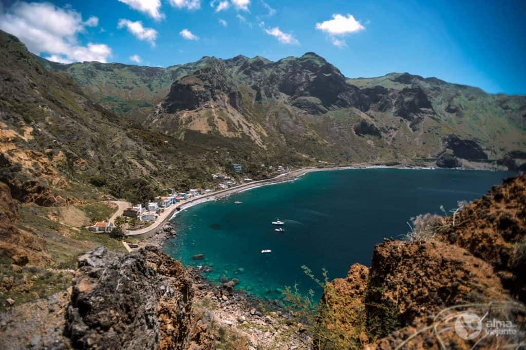 Fajã de Água, ilha Brava (Cabo Verde)