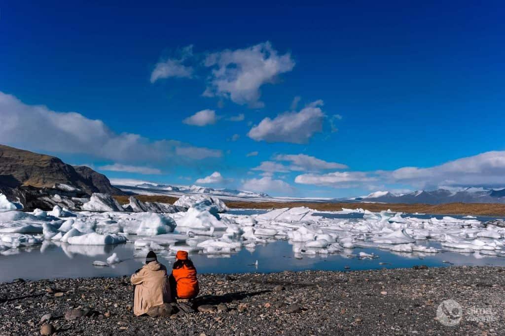 Ľadové jazero Fjallsarlon
