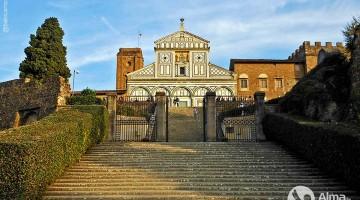 Obisk Firence: Cerkev San Miniato al Monte