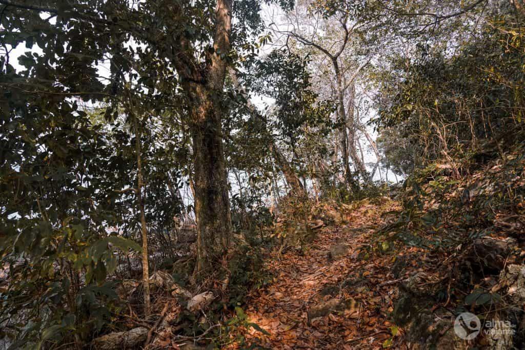 Caminhadas em Koh Wai