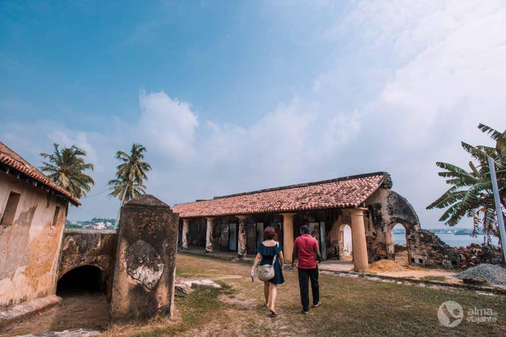 Visitar Forte de Galle, Sri Lanka