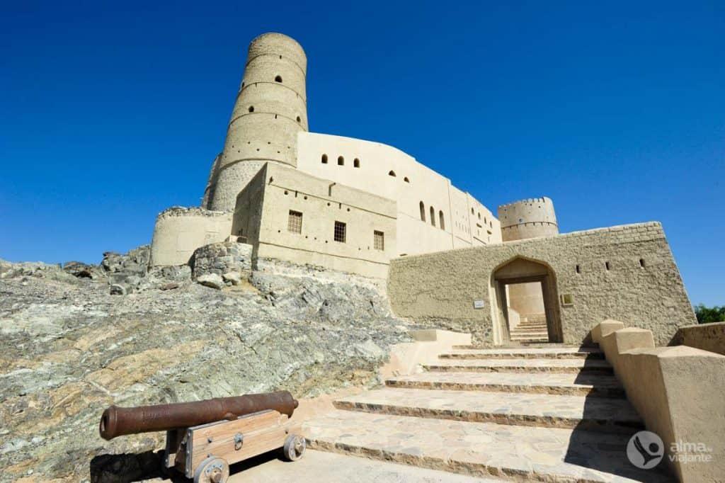Património UNESCO em Omã: Forte Bahla