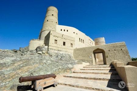 Roteiro de viagem em Omã: Forte Bahla