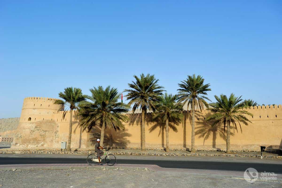 Forte (ou castelo) português em Khasab