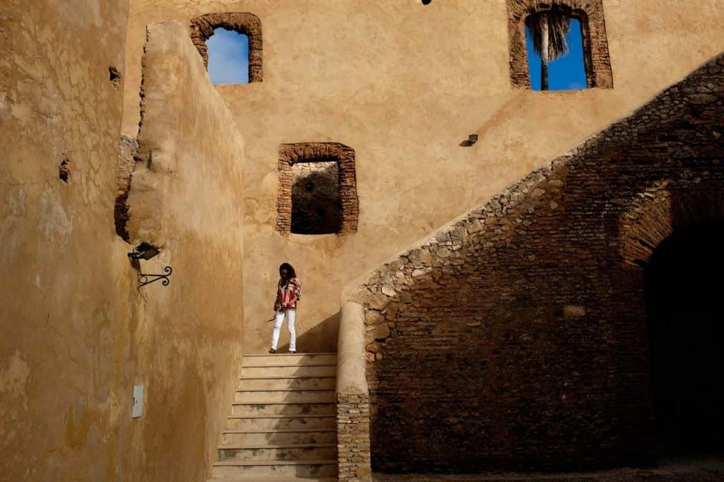 A antiga prisão do forte português de Azamor