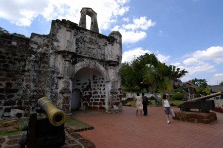 Forte português em Malaca