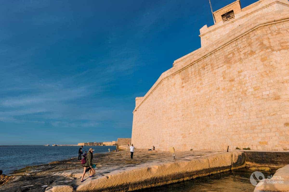 Três Cidades: Forte de São Ângelo, Vittoriosa