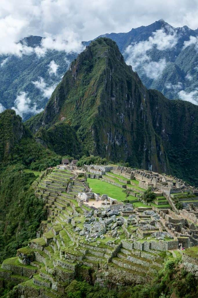 Machna Picchu with Wayna Picchu