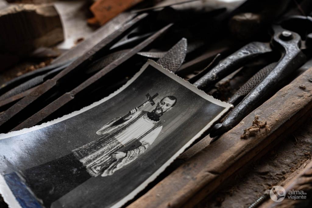 Fotografia de arte sacra dos santeiros da Trofa