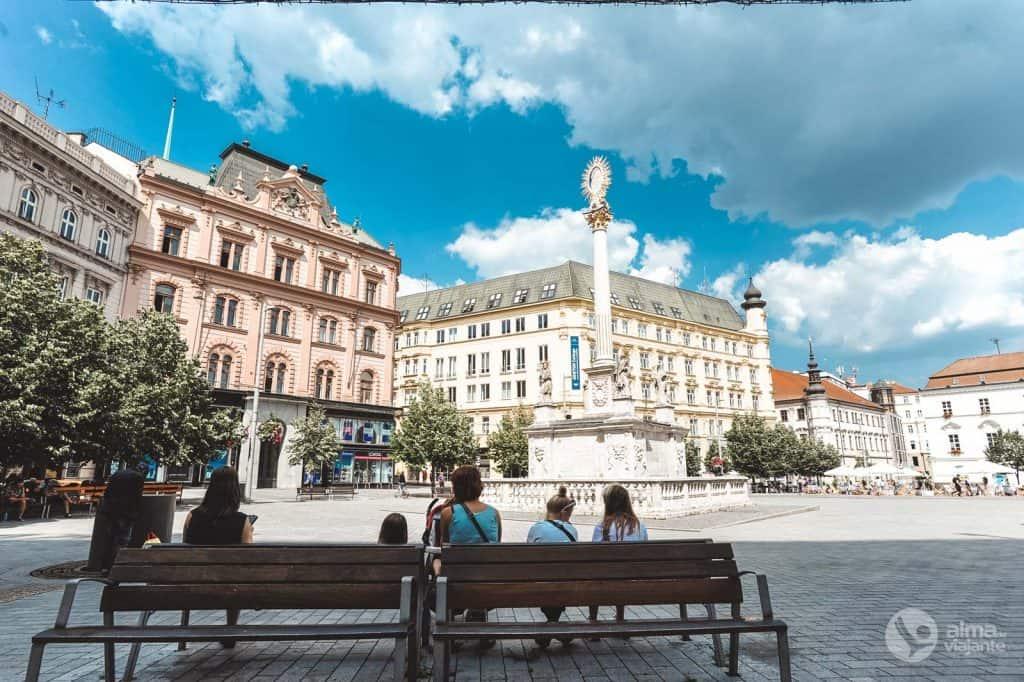 Liberdade aikštė, Brno