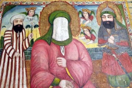 Fresco do profeta Maomé