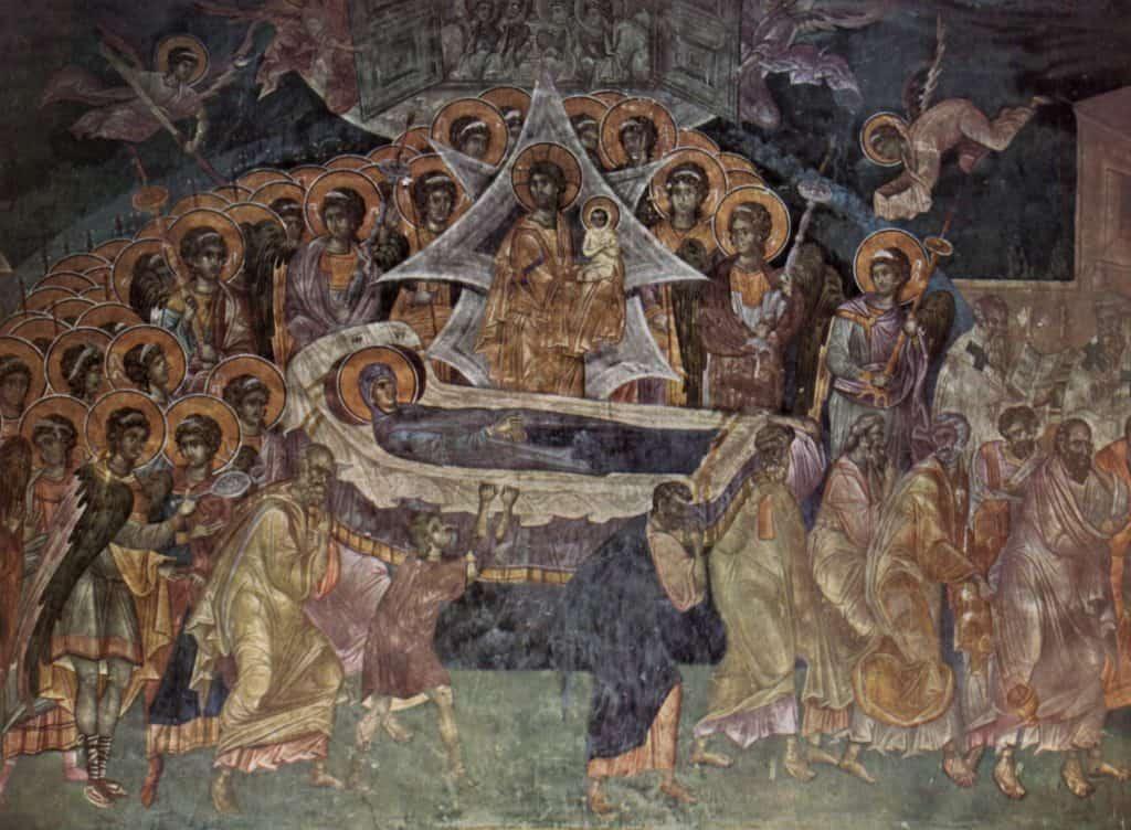 Frescos Mosteiro Gracanica