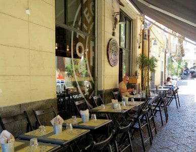 Visitar sicília: Restaurante FUD, Catânia
