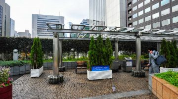 Rūkymo vieta Ginzoje, Tokijuje