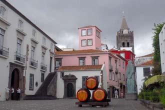 Centro do Funchal, principal cidade da ilha da Madeira