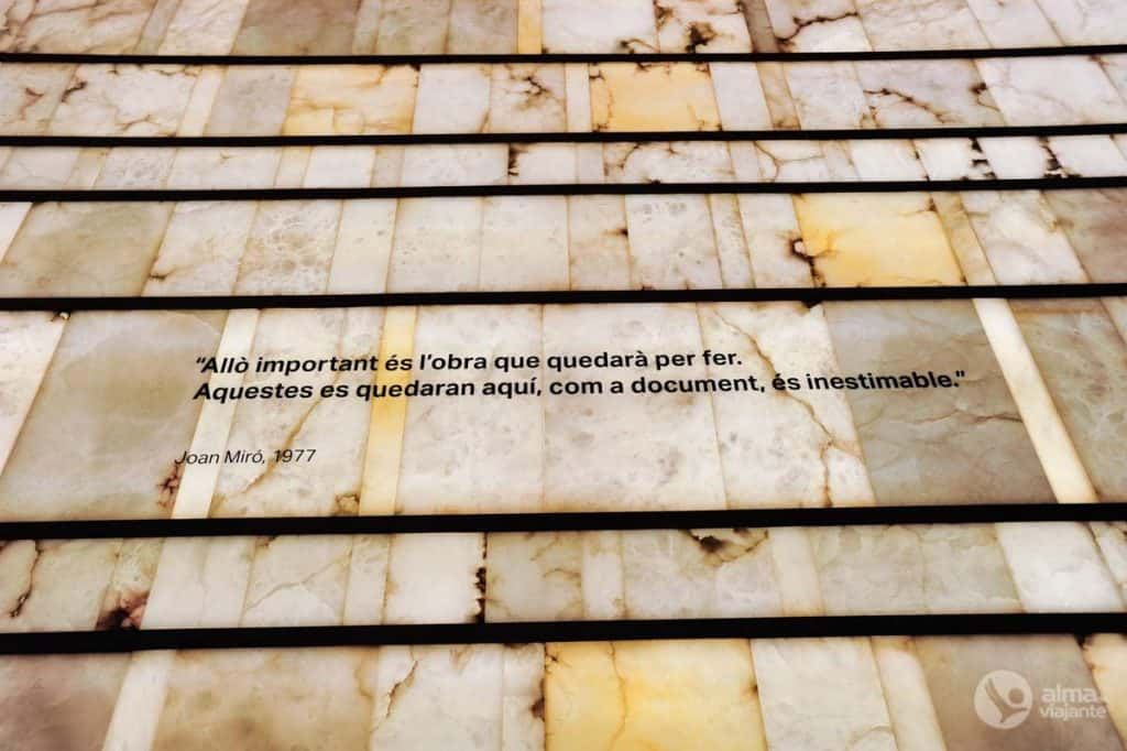 Pilar i Joan Miró fondo muziejus