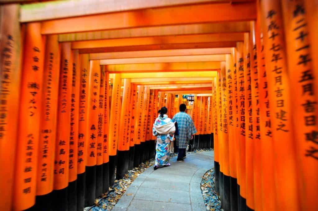 伏见稻荷,京都