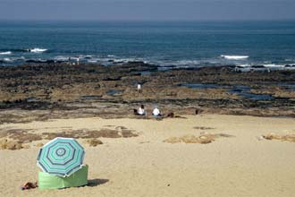 Praia em Vila Nova de Gaia