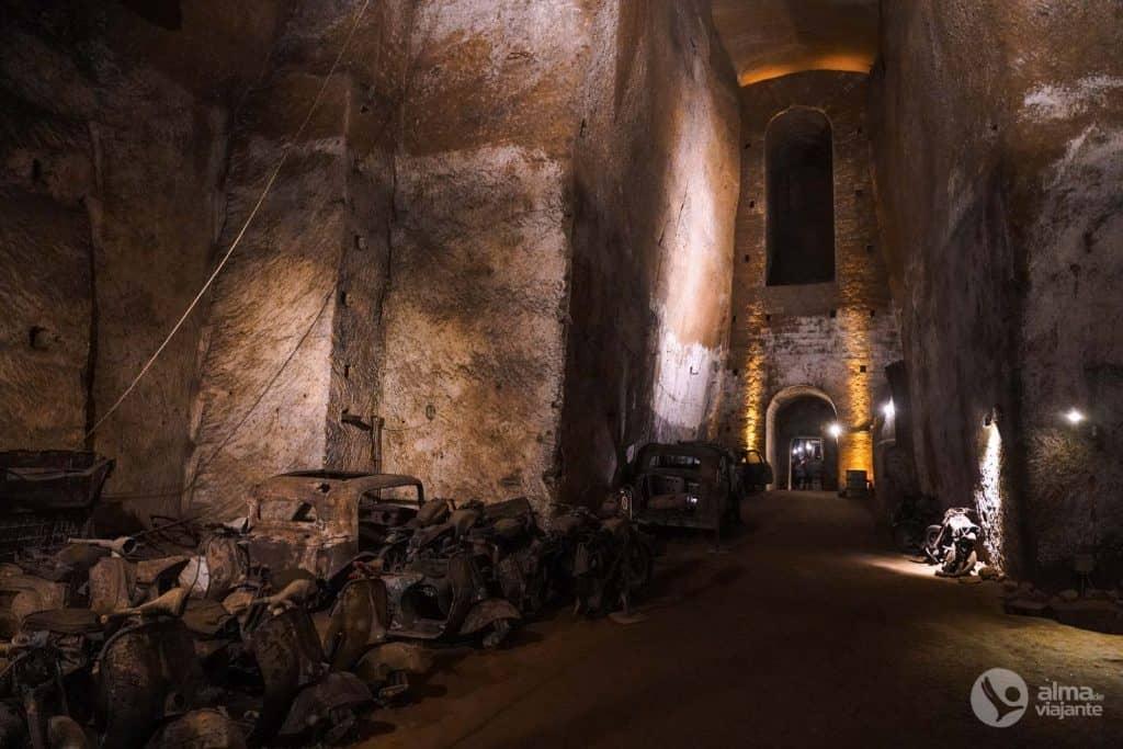 O que fazer em Nápoles: Galeria Borbonica