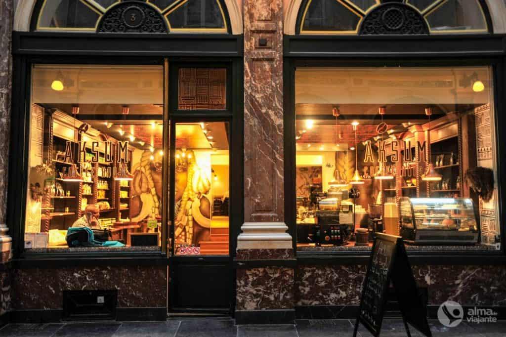 O que fazer em Bruxelas: visitar Galerias Saint Hubert