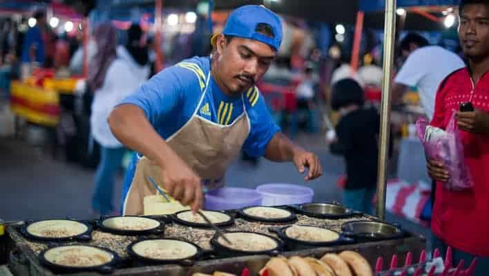 Gastronomia em viagem: mercado de Langkawi, Malásia