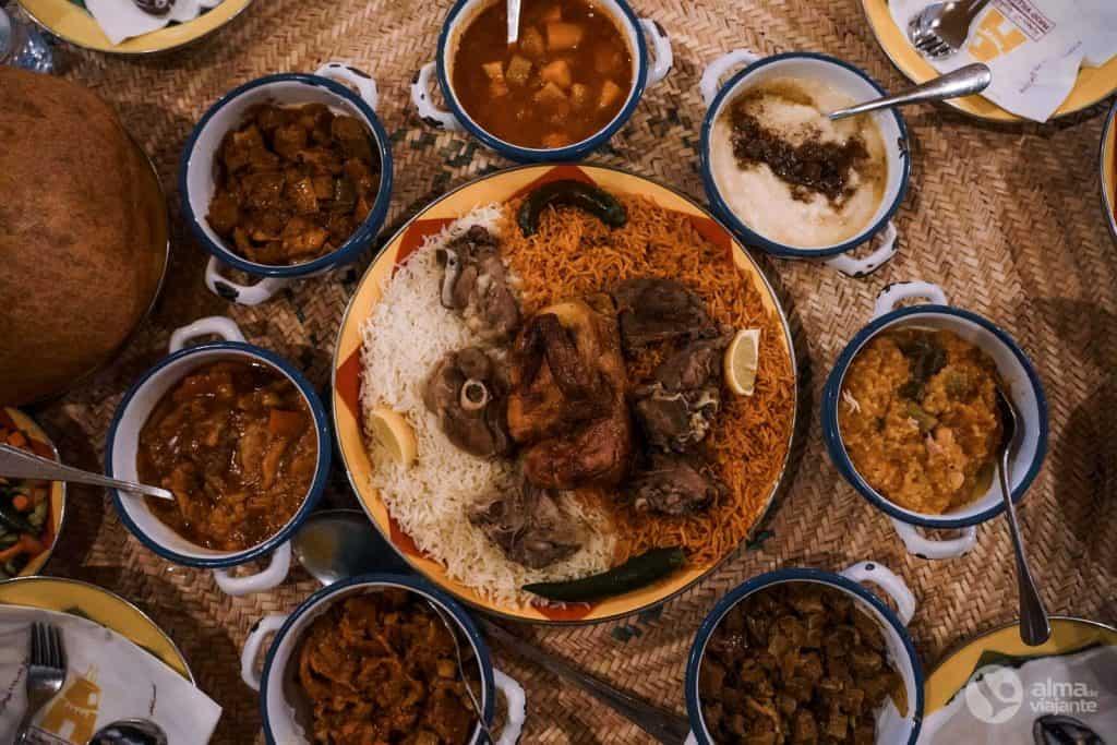 Onde comer em Riade: Nadj Village