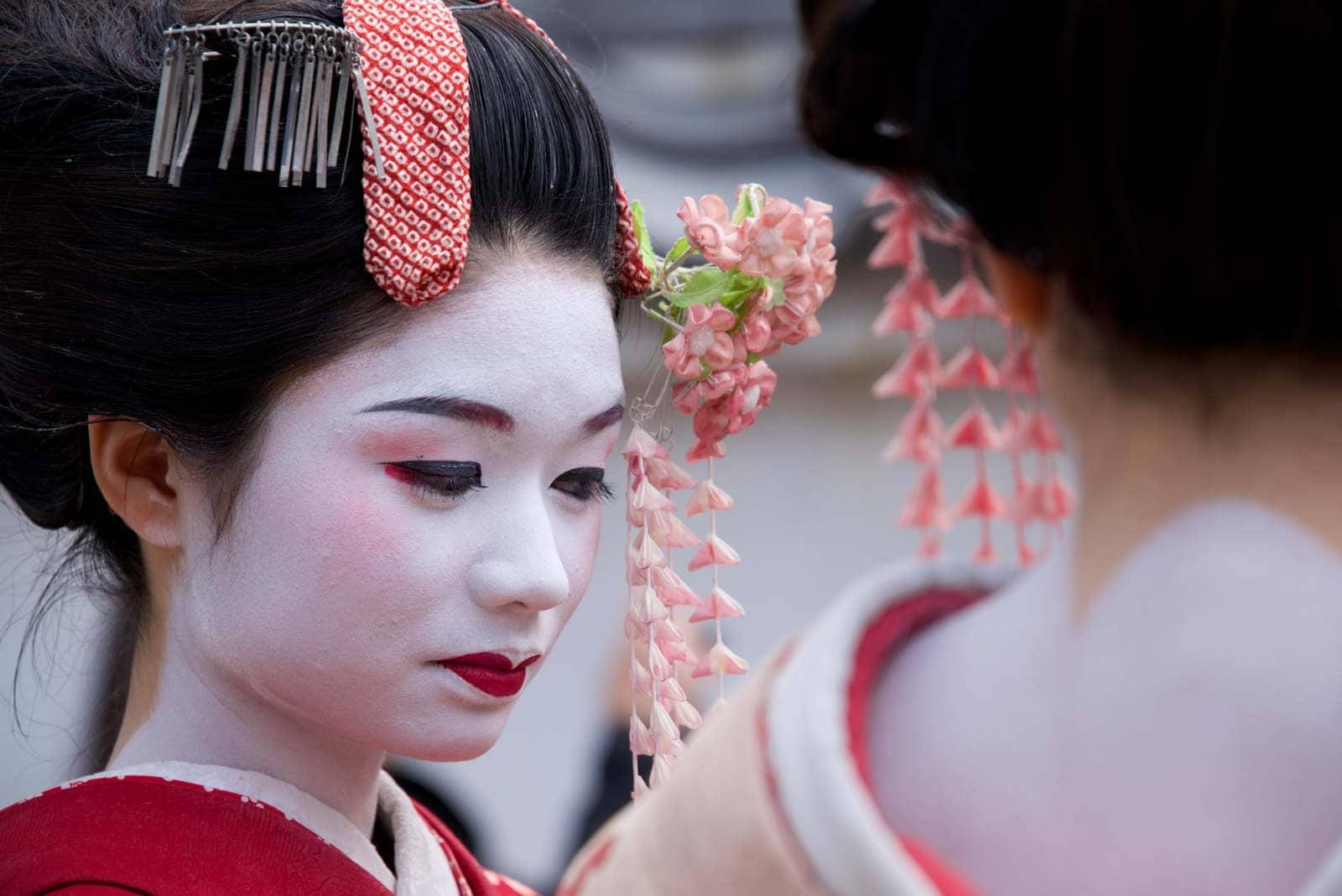 Geisha, Kioto, Japonija
