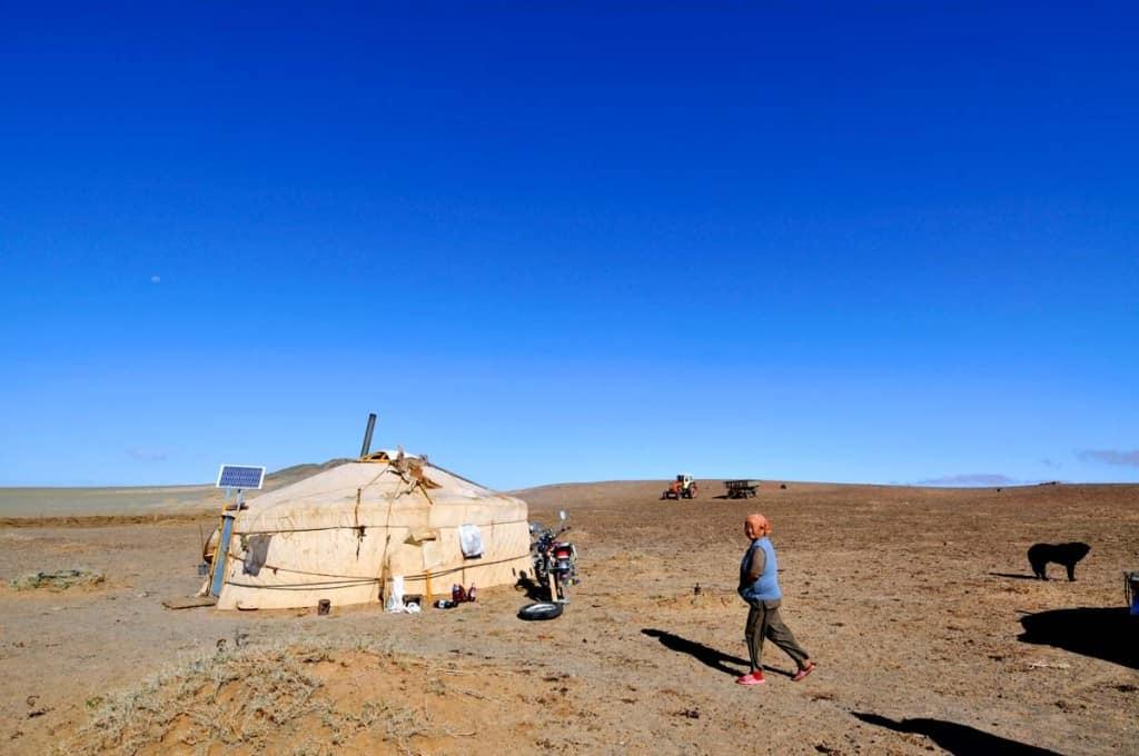Ger (yurt), Mongólia