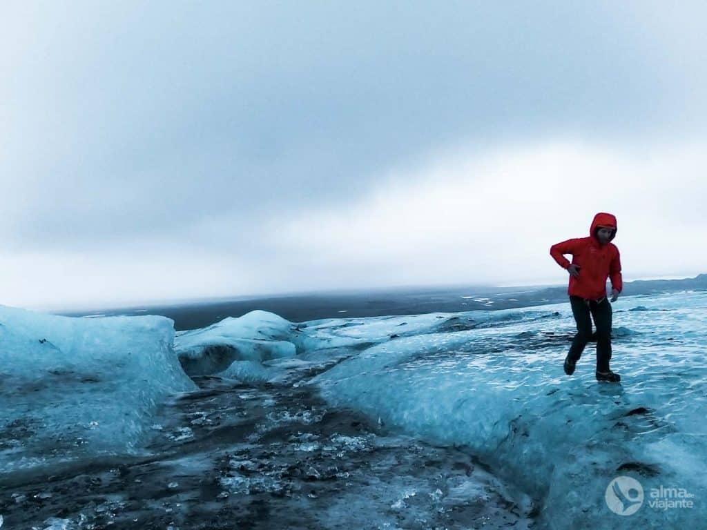 Glacier Vatnajökull, Islande