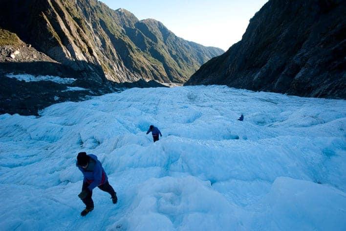 Glaciar Franz Josef, Nova Zelândia