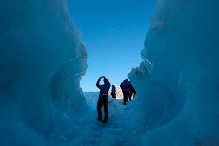 Glaciar Franz Josef, ilha Sul da nova Zelândia