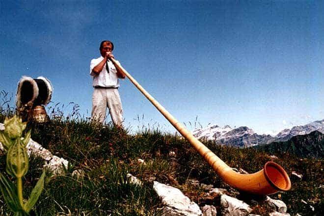Aletsch, nos Alpes suíços