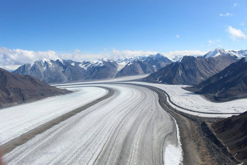 Glaciar Kaskawulsh, Yukon