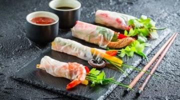 Spring rolls, toda a frescura do Vietname