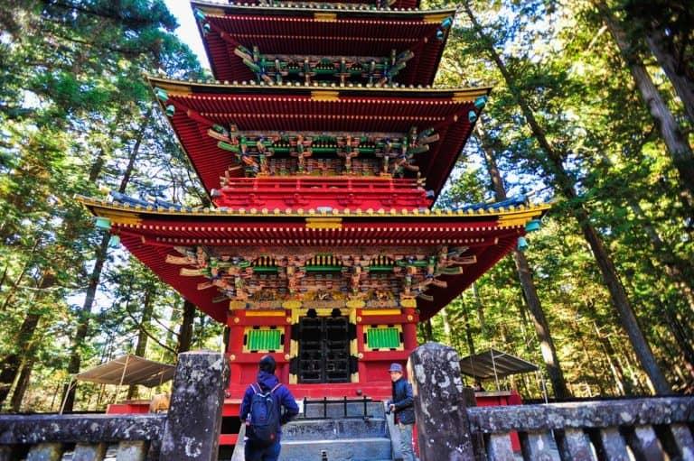 Gojūnotō, Nikko