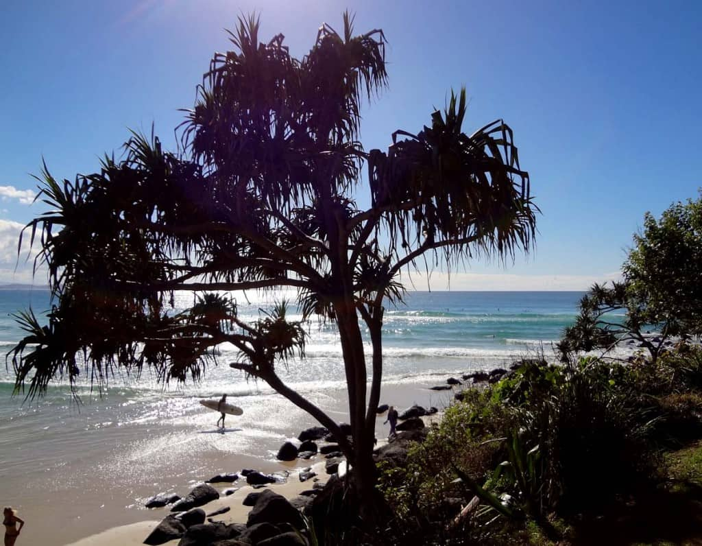 Heimsókn Gold Coast: Kirra Beach
