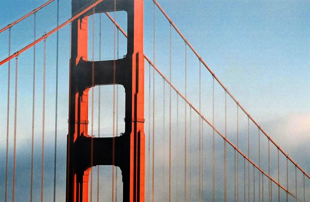 San Francisco staðir: Golden Gate Bridge