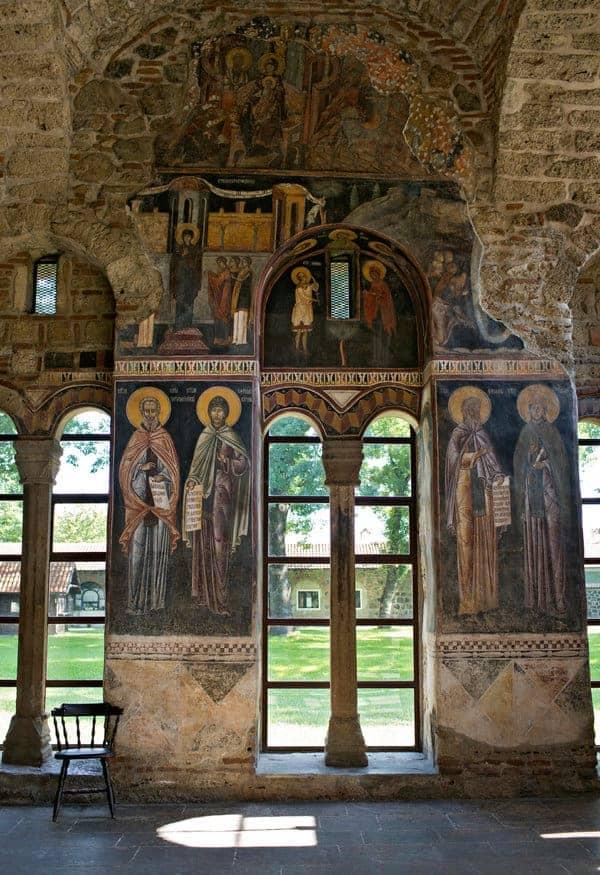 Interior do Mosteiro de Grananica