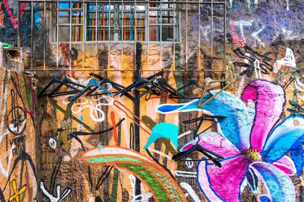 Arte urbana na Vila Madalena