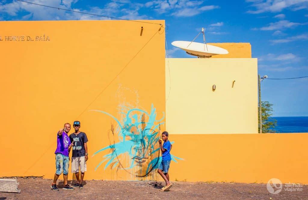 Festival de grafitti em Norte Baía