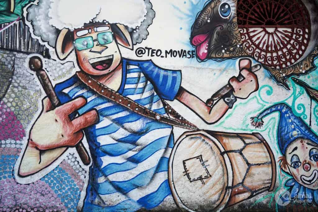 Arte urbana em Olinda