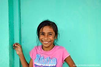 Criança em Catarina, Nicarágua