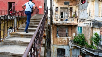 Bygging í Vedado, Havana