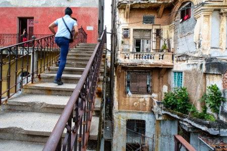Prédio em Vedado, Havana